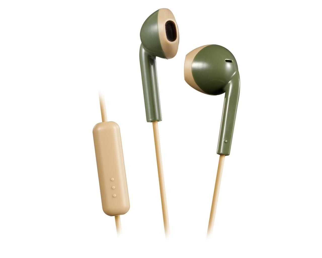 JVC Słuchawki HA-F19M zielone