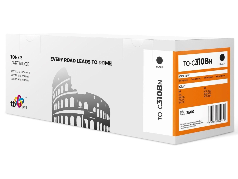 TB Print Toner do OKI C310 TO-C310BN czarny 100% nowy