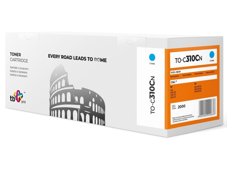 TB Print Toner do OKI C310 TO-C310CN cyan 100% nowy