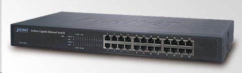 Planet Switch niezarządzalny GSW-2401 24-Port 1000Mb/s