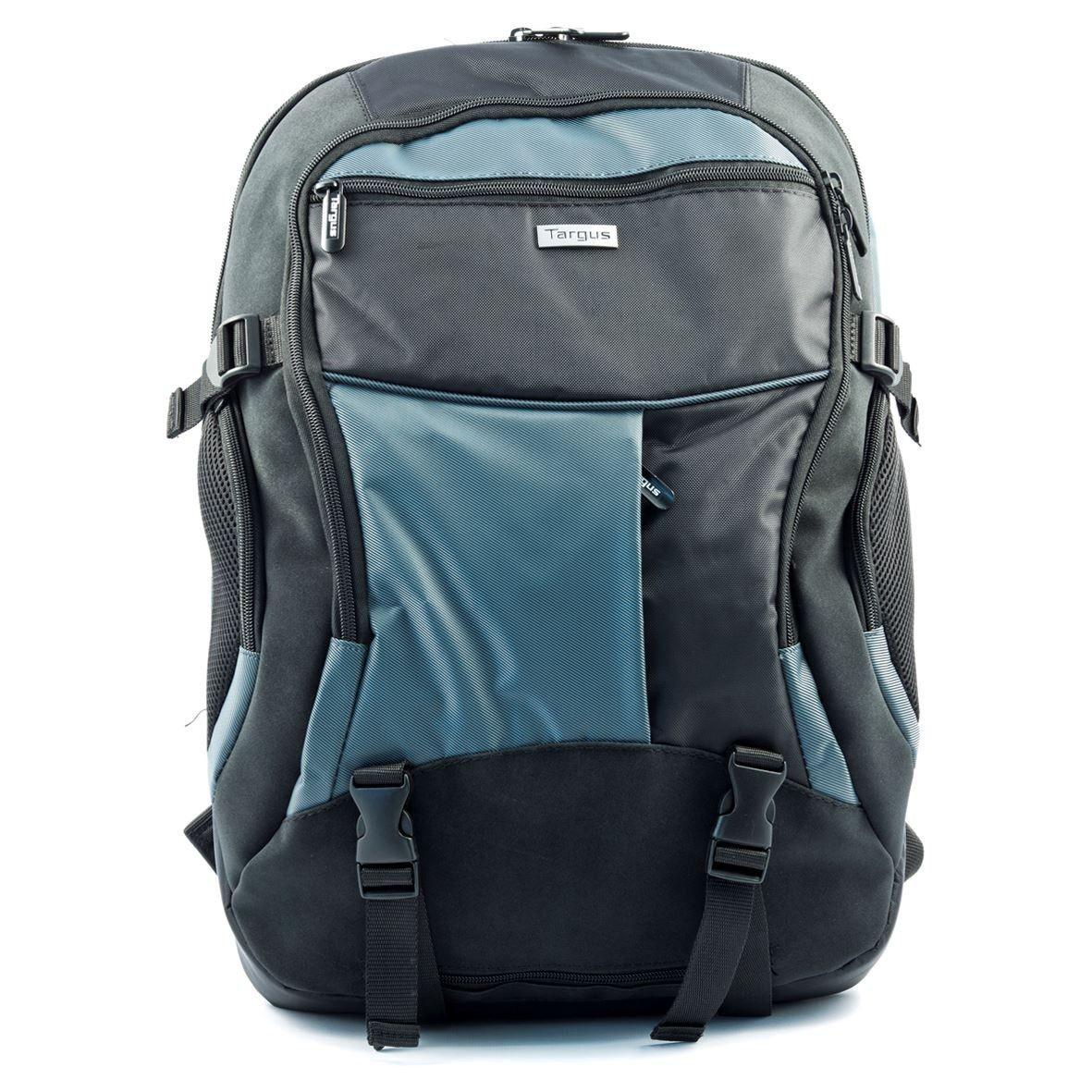 Targus Backpac XL 17-18'' (plecak, czarno-niebieski)
