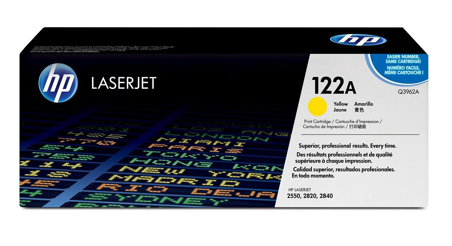 HP Q3962A Toner yellow 4000str CLJ2550/2820aio/2840aio