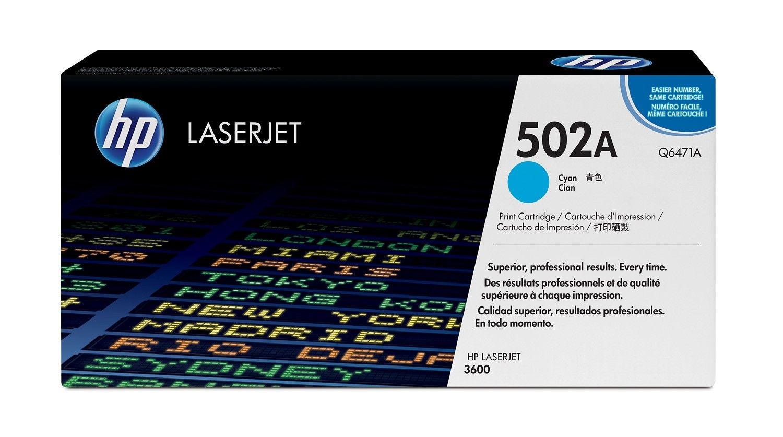 HP TONER CYAN 502A /LJ3600 4K/Q6471A