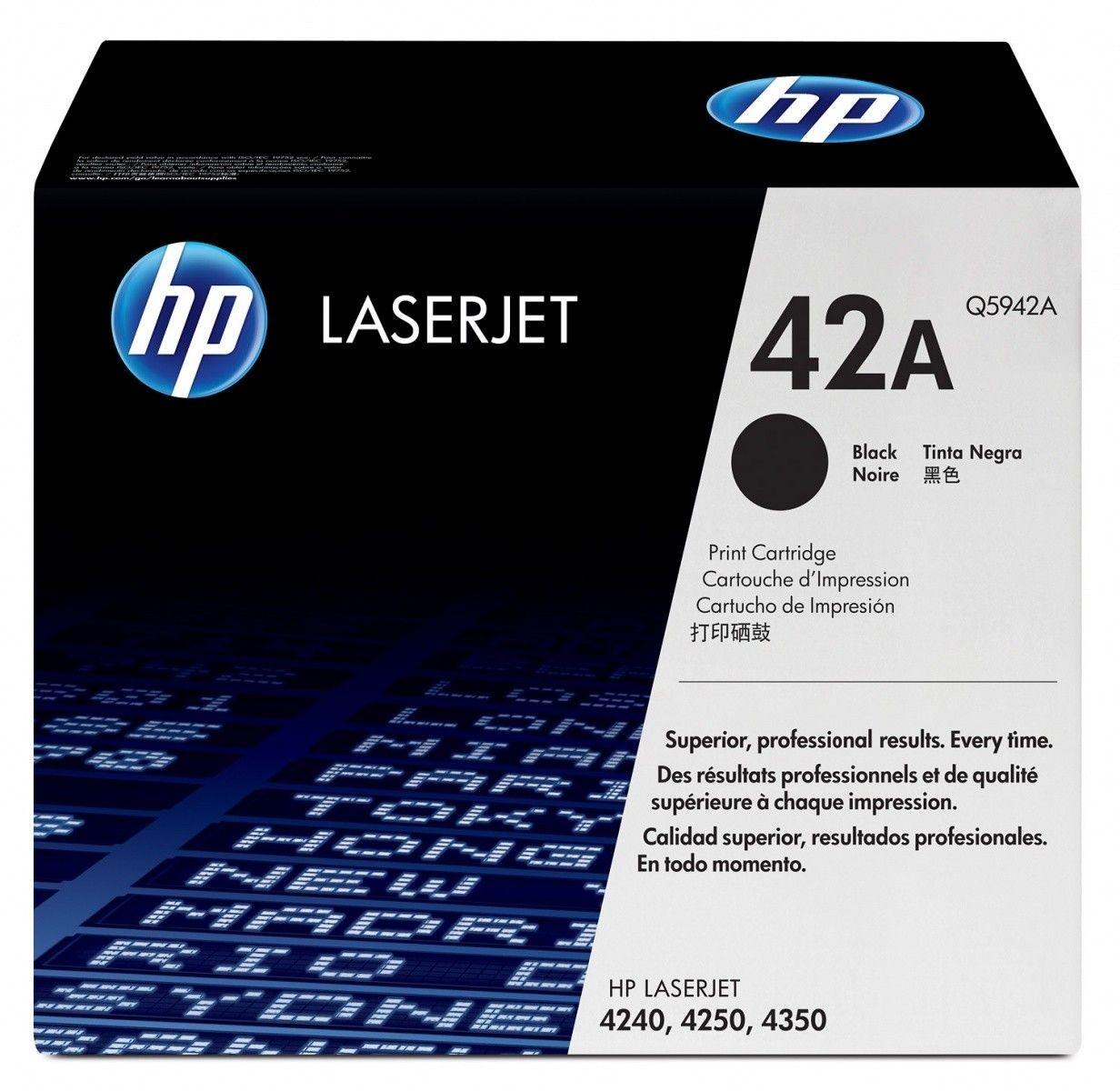 HP Q5942A Toner black 10000str LaserJet4250/4350