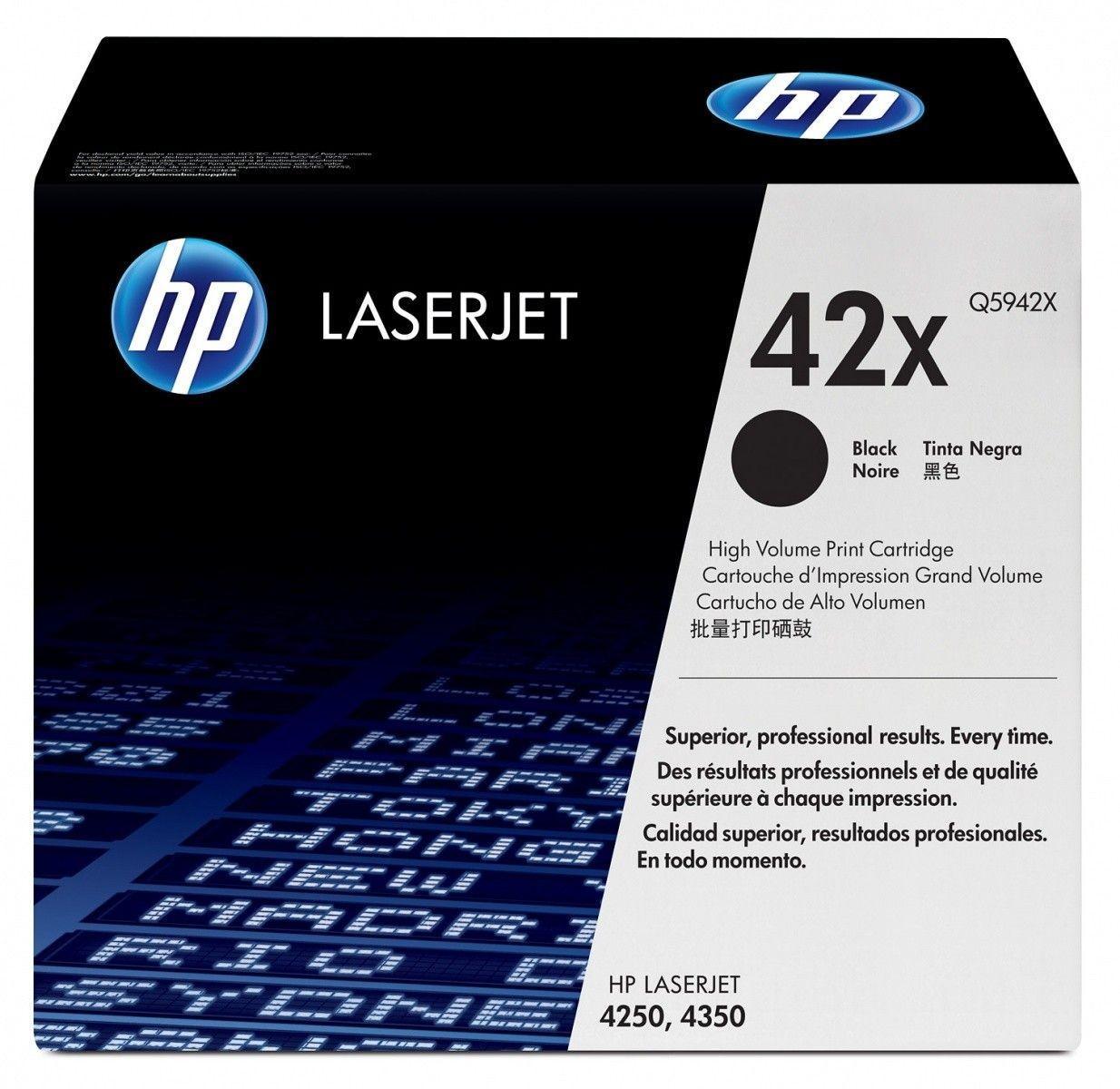 HP Toner Laser 4x50 Serie Black 20k Q5942X