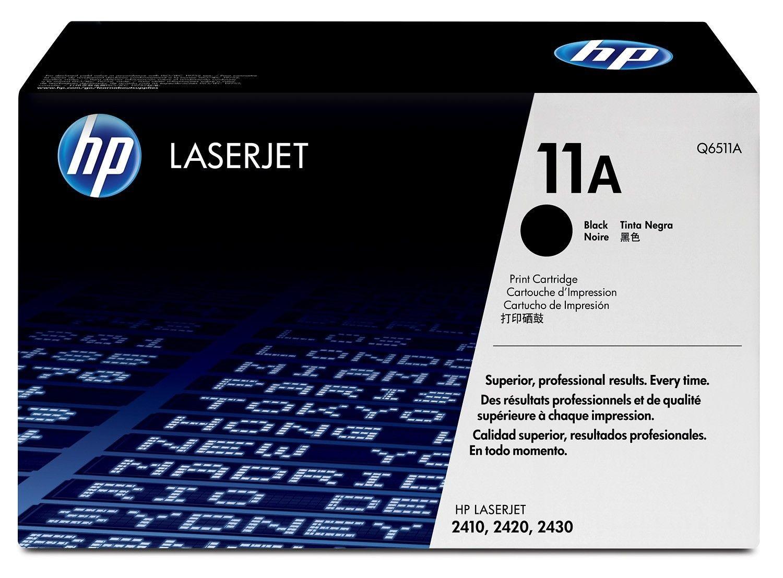 HP 11A - Schwarz - Original - LaserJet - Tonerpatrone (Q6511A) Profitieren Sie von der legendären Qualität und Zuverlässigkeit der 11 LaserJet Tonerkartuschen.