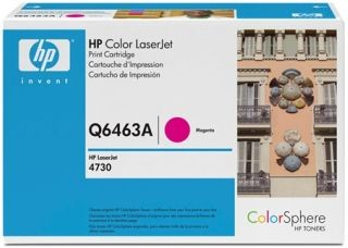 HP 644A Colour LaserJet original toner cartridge magenta standard capacity 12.000 pages 1-pack