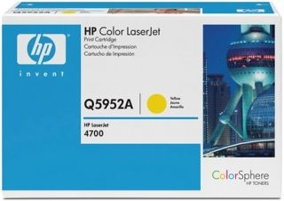 HP 643A Colour LaserJet original toner cartridge yellow standard capacity 10.000 pages 1-pack