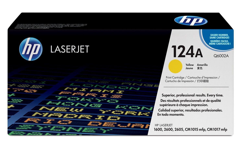 HP Toner Żółty 124A 2k Q6002A