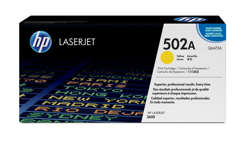 HP Q6472A Toner yellow 4000str CLJ3600