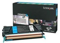 Lexmark Prebate tonerkassette til C524, cyan (5000 sider)