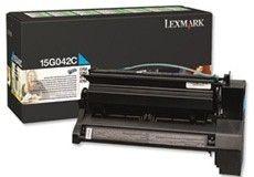 Lexmark Toner/cyan 6000sh LY Return f C752