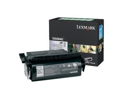 Lexmark T61X toner cartridge black high capacity 25.000 pages 1-pack return program