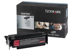 Lexmark 12A7410 Toner black zwrotny 5000 str. T420