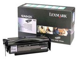 Lexmark T430 toner cartridge black standard capacity 6.000 pages 1-pack return program