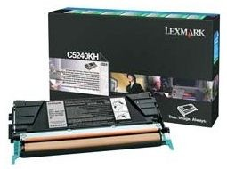 Lexmark C5240KH Toner black zwrotny 8000 str. C524 / C532dn / C532n / C534