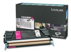 Lexmark Prebate tonerkassette til C524, magenta (5000 sider)