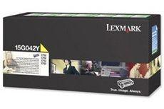 Lexmark Toner/yellow 15000sh HY Return f C752