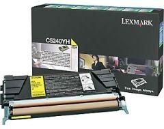 Lexmark Prebate tonerkassette til C524, gul (5000 sider)