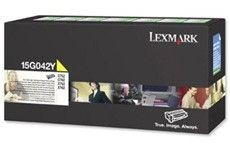 Lexmark Toner/yellow 6000sh LY Return f C752