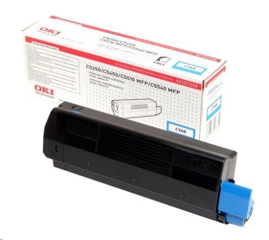 OKI Toner C5250/5450/5520MFP/5540MFP cyan 5k