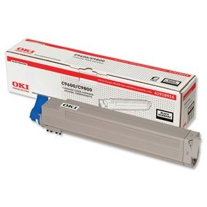 OKI 42918916 Toner black 15 000str C9600/9650/9800/9850