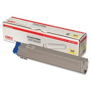 OKI 42918913 Toner yellow 15 000str C9600/9650/9800/9850