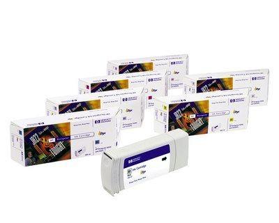 HP 81 original dye ink cartridge magenta standard capacity 680ml 1-pack