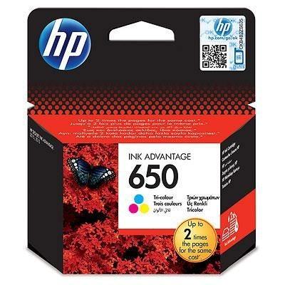 HP Tusz 650 Color
