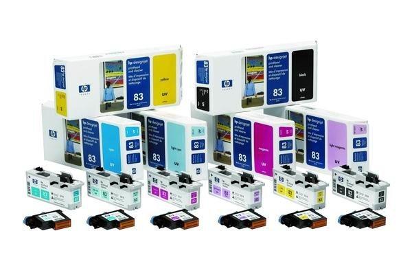 HP Głowica No. 83 Black UV do DSJ 5x00, C4960A