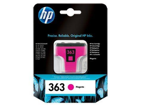 HP INK CARTRIDGE MAGENTA NO.363/3.5ML C8772EE