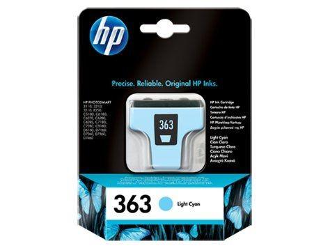 HP INK CARTRIDGE L. CYAN NO.363/5.5ML C8774EE