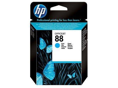 HP 88 original ink cartridge cyan standard capacity 9ml 860 pages 1-pack