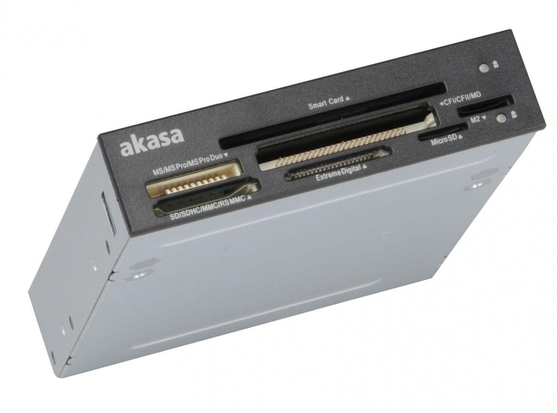 Akasa 3.5'' Czytnik kart pamięci SMART AK-ICR-09, 7 portów, electronic ID