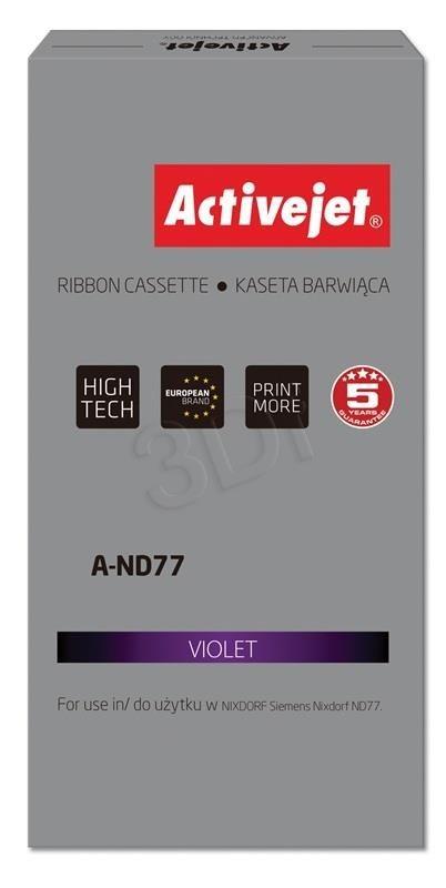 ActiveJet Kaseta barwiąca A-ND77 (zamiennik Siemens 1750075146; Supreme; fioletowy)