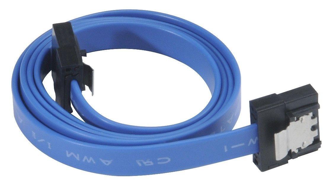 Akasa Kabel Super slim SATA rev 3.0 - 50cm, Niebieski