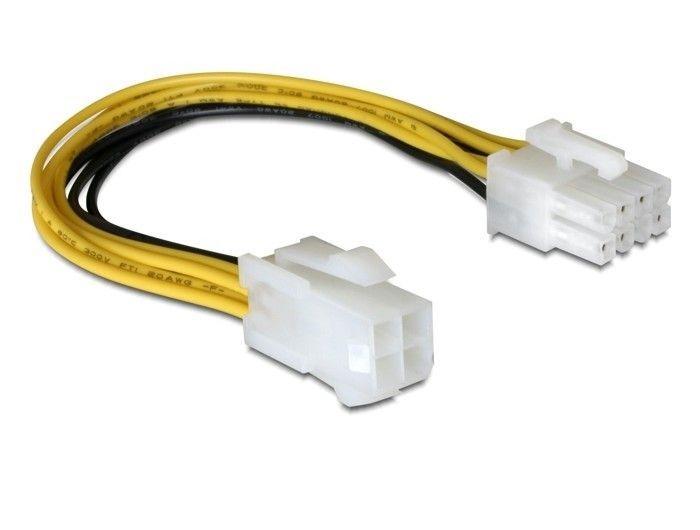DeLOCK kabel zasilający 4PIN ATX -> EPS 8PIN