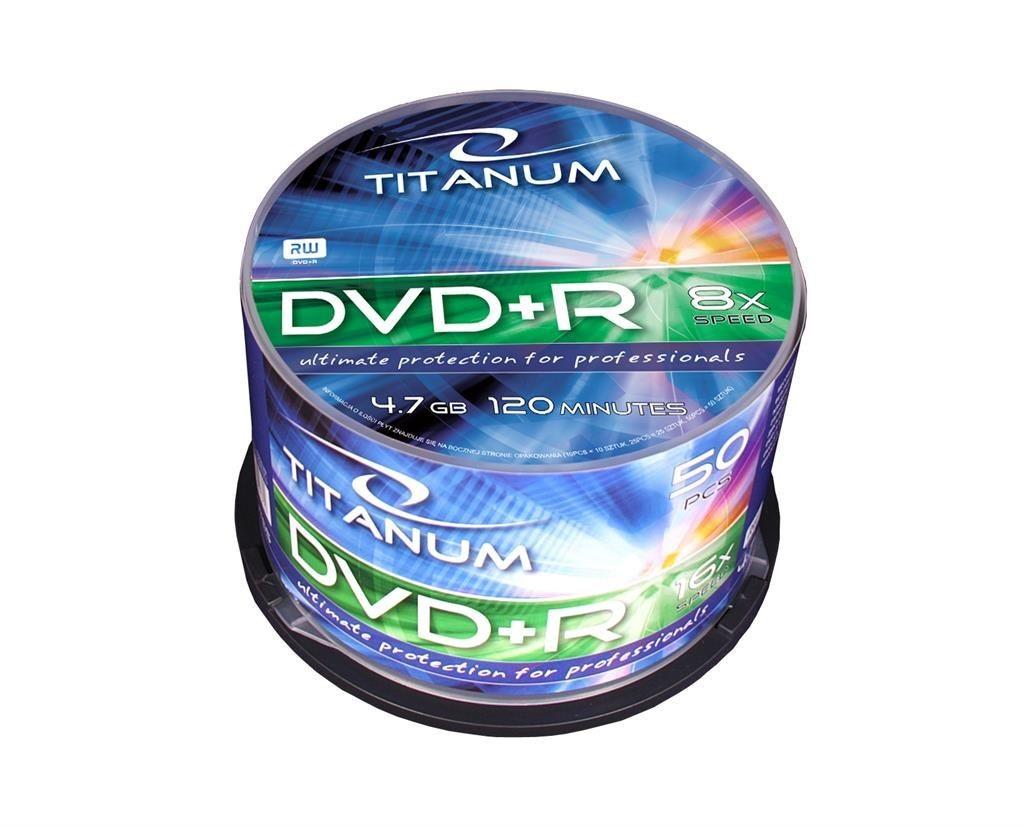 Esperanza TITANUM 1076 - DVD+R [ cake box 50 | 4.7GB | 8x ]
