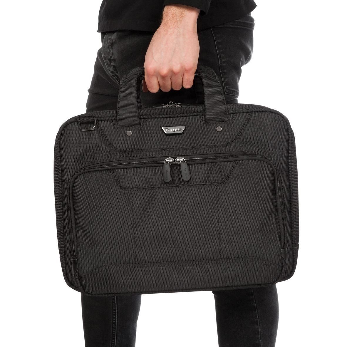 Targus Corporate Traveller 15.6'' Topload Laptop Case - Black