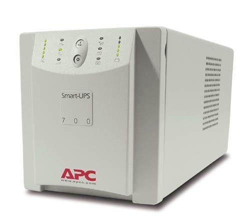 APC Smart-UPS 700VA W/AUTO SELECT INPUT VOLT 120V/230V IN 120V OUT