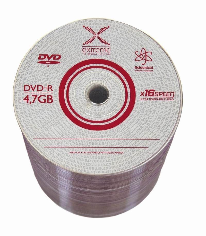 Extreme Płyty DVD-R 4,7 GB x16 - S-100