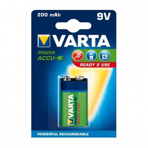 VARTA AKUMULATORY Hi-voltage 9V 200 mAh 1szt ready 2 use