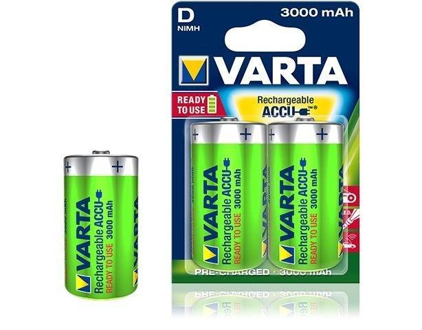 VARTA Akumulator R20 3000mAh 2szt ready 2 use