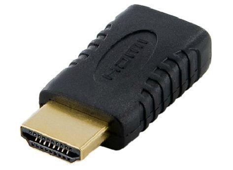4World Adapter HDMI [M] > mini HDMI typ C [F], czarny