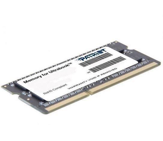 Patriot PSD34G1600L81S 4GB 1600MHz DDR3 Non-ECC CL11 1.35V SODIMM