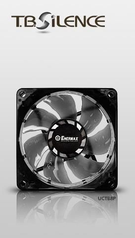 Enermax Wentylator T.B. SILENCE PWM UCTB8P 8cm x 8cm x 2,5cm