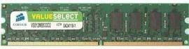 Corsair Value Select - DDR2 - 1 GB - DIMM 240-PIN - ungepuffert