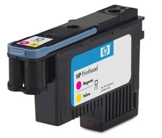 HP 70 original printhead magenta and yellow standard capacity 1-pack