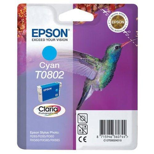 Epson C13T08024011 Tusz T0802 cyan Stylus photo R265/285/360,RX560/585/685