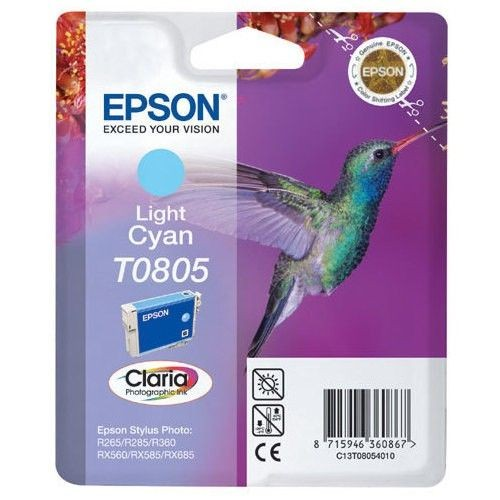 Epson C13T08054011 Tusz T0805 light cyan Stylus photo R265/285/360,RX560/585/685